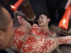 拷問並のSM調教に泣き叫ぶ割にはアソコがびしょびしょになっちゃうドM嬢 星川麻紀