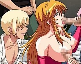 アニメ 息子の同級生ヤンキーにハメられ完全ビッチ雌犬化した淫乱ママに近親相姦される