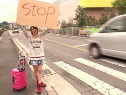 【ヤバイ企画】謝礼は性欲処理のおもてなしで支払っちゃう!ヒッチ○ハイクでえっちな旅行の一部始終www