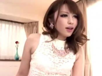 桜井あゆ キャバ嬢みたいなギャルがネットリ濃厚に迫る顔射セックス