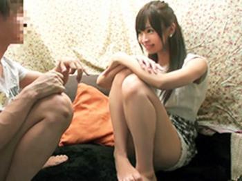 <勃起で罰ゲーム>最高にカワイイ娘が100万円の賞金に目がくらんで男友達と一線を越えるw 西村美咲<素人ナンパ企画>