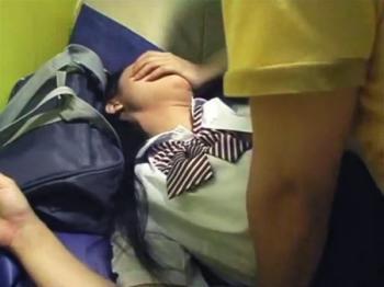 【個人撮影】ロリマン女子校生の生々しいハメ撮り円光動画がネット流出!美少女JKの人生終了ww【援助交際】@PornHub