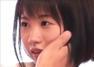 【君野由奈】AVなんて無縁そうなショートヘア美少女がカメラの前でガチセックス