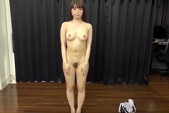 素人 直立 裸